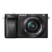 Câmera ILCE-6300l de montagem tipo E A6300L com sensor APS-C (kit com lente 16-50mm)