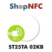 Tag NFC ST25TA02KB 29 mm adesivi