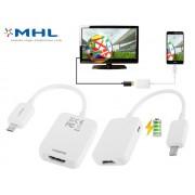 NTR CAB99 MicroUSB B dugó - HDMI aljzat MHL adapter Samsung Galaxy S4 és S5 okostelefonhoz