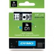Dymo Original DirectLabel-Etiketten schwarz auf Transparent 43610