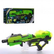 Emob Large High Speed Soft Bullet Blaze Storm Gun Toy with 20 Glow Darts and Rechargeable Batteries (Multicolor)