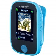 auvisio Clip-On-Multimedia-Player, 4,6-cm-Farb-Display, Bluetooth, Pedometer