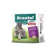 Drontal Plus Vermífugo Sabor Carne Cães Até 10kg 02 Comprimidos 776,5mg Cada Comprimido - Bayer