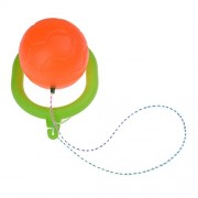 Baradu 1 Pcs Skip Ball for Kids Adult Toy Swing Jumping Ball With Rope, Orange