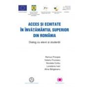 Acces si echitate in invatamantul superior din Romania. Dialog cu elevii si studentii