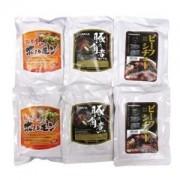 お肉屋さんのレトルトセット ~ 味噌ホルモン 角煮 ビーフシチュー(6袋入り) ~
