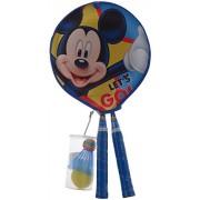 Mesuca Disney Mickey Mouse Badminton Set with Shuttle, Multi Color