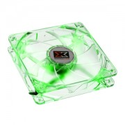 Ventilator 120 mm Xigmatek CLF-FR1253 Crystal Green LED