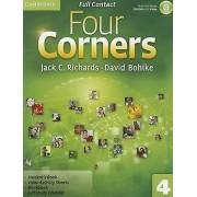 Four Corners Level 4 Full Contact with Selfstudy CDROM par Richards & Jack C.Bohlke & David