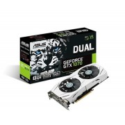 VGA Asus DUAL-GTX1070-8G, nVidia GeForce GTX 1070, 8GB 256-bit GDDR5, do 1721MHz, DP 2x, DVI-D, HDMI 2x, 36mj