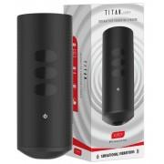 Kiiroo Titan Experience - akkus interaktív maszturbátor (fekete)