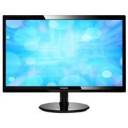 "Monitor LED 24"""", Full HD, negru, PHILIPS 246V5LSB/00"