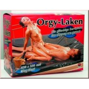 Wasbaar Massage hoeslaken 220 x 220 cm, zwart
