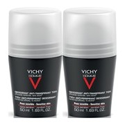 Homme duo roll on anti-transpirante 72h 2x50ml - Vichy