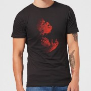 Universal Monsters Camiseta Universal Monsters El hombre lobo Illustrated - Hombre - Negro - S - Negro