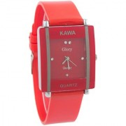 TRUE CHOICE Red Square Kawa Watch For Girl