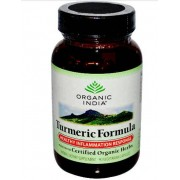 Organic India Turmeric Formula - Joint Mobility & Support (90 Veggie Caps) - Organic India