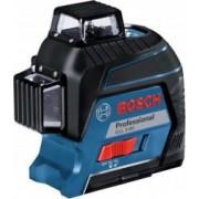 Nivela laser cu linii Bosh Professional GLL 3-80 30 m, ± 0.2 mm/m precizie + stativ constructii Bosch Professional
