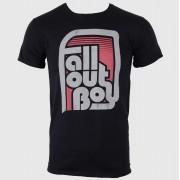 tricou stil metal bărbați Fall Out Boy - Retro Black - LIVE NATION - PE10259TSB