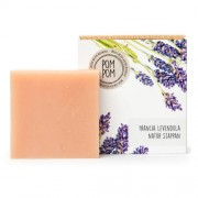 PomPom Francia levendula natúr szappan, 100 g