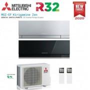 Mitsubishi Climatizzatore Condizionatore Mitsubishi Electric Dual Split Inverter Serie Msz-Ef Kirigamine Zen 9000+12000 Con Mxz-2f42vf2 R-32 Disponibili In Vari Colori - New 2020 9+12