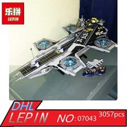 Generic Lepin 07043 Super Heroes The Shield Helicarrier Model Building Kits Blocks Bricks Toys Compatible 76042
