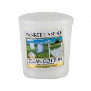 Yankee Candle Clean Cotton vonná svíčka 49 g