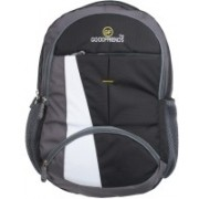 Good Friends laptop backpacks with rain cover Solid 30 Backpack(Black)