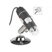 Digitales USB-Mikroskop mit Kamera & Ständer, 500-fache Vergrösserung | Mikroskop