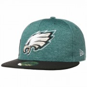 New Era 59Fifty On-Field 18 Eagles Cap NFL-Cap Basecap Baseballcap Fitted Flat Brim Philadelphia
