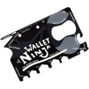 Bruzone Ninja Wallet 18 in 1 F18 18 Swiss Army Card(Black)