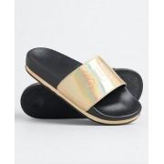 Superdry Arizona Flatform Pantoletten M schwarz