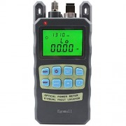 Egomall Fiber Optic Cable Tester Visual Fault Locator Portable Optical Power Meter Sc and Fc Connector Fiber Tester