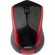 Мишка Безжична V-Track PADLESS мишка G7-400N-2, черно с червено,3бут; 2.4Gh, USB, нано рисивър - A4-MOUSE-G7-400N-2
