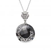 Magical Ornament - Colier de argint Preciosa (Black)
