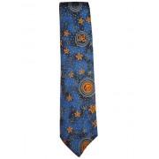 """Cravata vintage planete """"Max Raab"""" anii '60 - '70"""