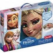 Joc creativ Pixel Art Quercetti tablou Frozen Elsa sau Anna 6600 piese
