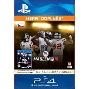 MADDEN NFL 18: G.O.A.T. Holiday Upgrade - PS4 HU Digital