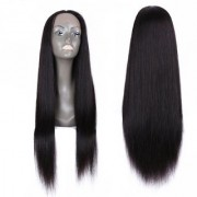 Sellers Destination Long Straight Human Hair for Women(size 26 Black)