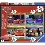 PUZZLE DISNEY CARS 4 BUC IN CUTIE 12162024 PIESE Ravensburger