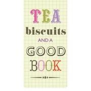 Magnetische boekenlegger: Tea biscuits and a good book