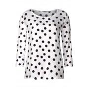 STREET ONE Shirt met allover print Evi - off white