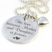The love between Mother and Daughter is forever - Medium Munt