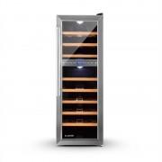 Klarstein Reserva 27D хладилник за вино 2 зони 76 литра 27 бутилки (HEA8-Reserva-27D)