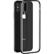 Husa Benks iPhone XS Max Electroplated Transparent Negru