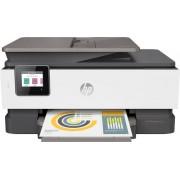 HP - OfficeJet Pro 8025 Wireless All-In-One Instant Ink Ready Inkjet Printer - Gray/White