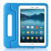 Zi_Hang Funda para Huawei MediaPad T3 10 para niños a prueba de golpes con asa convertible ligera, superprotectora con soporte para Huawei Honor Play Pad 2 9,6 azul