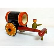 Exclusive Funwood Games Wooden Decorative Bullock Cart Set for Home Décor