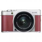 Fujifilm Finepix X-A5 Digital Cameras with 15-45mm f/3.5-5.6 OIS PZ - Pink