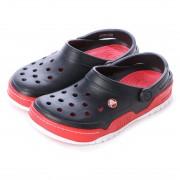 クロックス crocs サンダル Front Court Clog Black/Red M10/W12 14300-063-M10W12 (ブラック/レッド) レディース メンズ